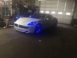 Custom Interior Lights For Cars Fisker Karma Customized In Philadelphia High End Car Stereos