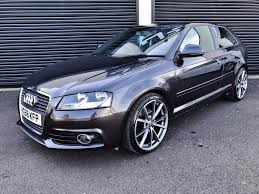 2008 audi a3 s line 2 0 tdi 170 3 door fsh lava grey in