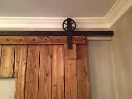 Barn Door Pictures by Never Leave Barn Door Brackets When Install Barn Door The Door