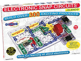 snap circuits lights electronics discovery kit amazon com snap circuits sc 300 electronics discovery kit toys games