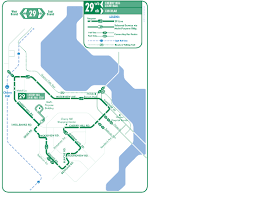 Muni Bus Map Sf Muni 29 Bus Route Map The Best Bus