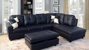 Microfiber Sleeper Sofa Home Fascinating Black Sectional Sleeper Sofa Property Remodel