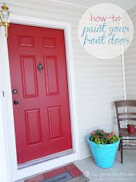 paint the house how to paint your front door love pomegranate house