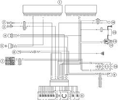 2005 kawasaki ninja zx 6r meter gauge circuit diagram