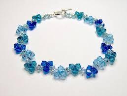 blue crystal bracelet swarovski images Blue sky blue bracelet swarovski bracelet blue bracelet bicone jpg