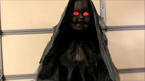 creepy rising animated doll halloween decoration youtube
