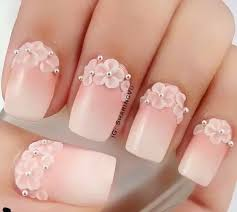 40 color nail art ideas white nail polish tiny flowers and