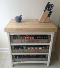 free standing kitchen island units ebay