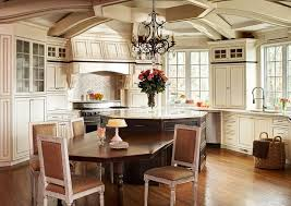 Octagon Dining Table Kitchen Traditional With Beige Cabinets Beige - Octagon kitchen table