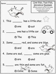 free the cat in the hat sentence structure circles color in the