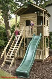 Backyard Clubhouse Plans by Fun Fortress Playhouse Plan Castle Playhouse Playhouse Plans