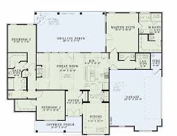 3 Bedroom Cabin Floor Plans by Houseplans Com Country Farmhouse Main Floor Plan Plan 17 2400