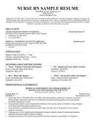 nicu resume sle operating room resume unforgettable operating room