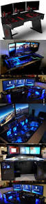gameing desks best 25 gaming desk ideas on pinterest computer gaming room