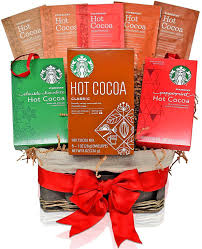gift for family amazon com starbucks valentine u0027s day gift baskets cocoa