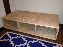 Build Platform Bed Storage Under by Diy Bed Just 3 Boxes Awesome Idea Siaras Bedroom Pinterest