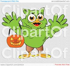 owl halloween background royalty free rf clipart illustration of a green halloween hulk