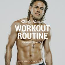 Jax Teller Memes - charlie hunnam workout routine and diet from jax teller to king arthur