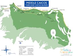 Pdf Maps Maps Of North Caicos And Middle Caicos Visit Turks And Caicos