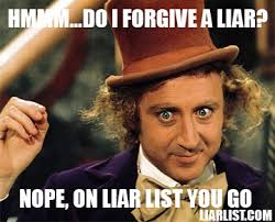 Liar Meme - liar list