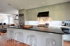 Ikea Kitchen Island Hack A Large Kitchen Diner In Light Beige And Walnut With Kitchen