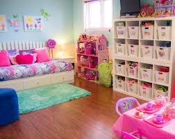 interior lovely colorful playroom ideas with flower pattern