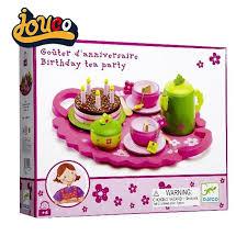 cuisine bois djeco djeco enfants jeu goûter d anniversaire birthday tea bois