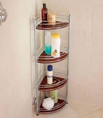 trendy teak corner shower caddy u2014 the decoras jchansdesigns