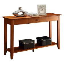 convenience concepts savannah console table american heritage console table cherry medium convenience