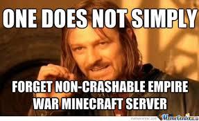 Server Meme - minecraft empire war pvp server by rancher meme center