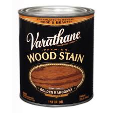 varathane 1 qt golden mahogany premium interior wood stain no 233
