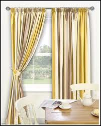 interesting yellow white curtains ideas with white and yellow