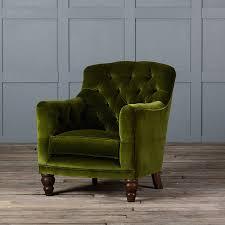 velvet chair and ottoman living room furniture original inley velvet armchair midnight blue