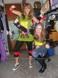 Group Halloween Costume Ideas For Teenage Girls Fun And Easy Teenage Mutant Ninja Turtles Girls Group Halloween