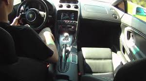 lamborghini inside 2017 lamborghini gallardo inside ride 6 speed gated shifter youtube