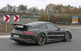 amethyst porsche facelifted 2017 porsche 991 gt3 spied completely free of camo