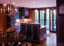 Mexican Kitchen Cabinets Pictures Of Kitchens Traditional Blue Kitchen Cabinets