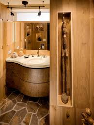 gorgeous rustic half bathroom ideas
