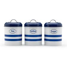 coffee themed kitchen canisters blue kitchen canister photogiraffe me