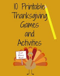 10 free printable thanksgiving and activities thanksgiving