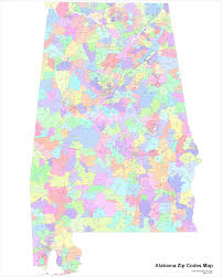 Zip Code By Map Alabama Zip Codes Map Zip Code Map
