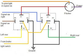 turn signal relay wiring diagram turn wiring diagrams collection