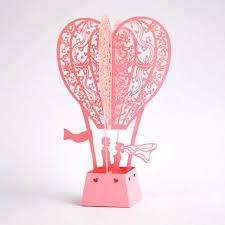 Wedding Gift Card 10 Piece Lot Air Balloon Lover Postcards Creative Wedding Gift