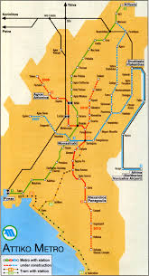 Map Of Athens Greece by Athens Greece Train Rail Maps