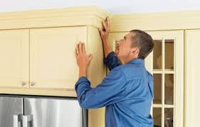 How To Install Kitchen Cabinets Crown Molding by How To Install Kitchen Cabinet Crown Molding With A Hardwood Frame