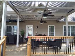 Patio Cover Plans Designs by Patio Ideas Louevered Patio Cover With Wooden Fence Design And