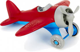 green toys airplane made safe in the usa