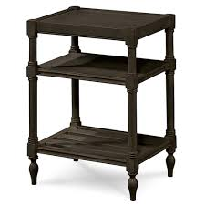 black side table with shelf country chic maple wood black side table with shelf zin home