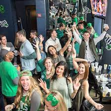 st patricks day chicago highline 2018 green curtain events
