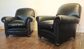 Antique Green Leather Restored Leather Chairs Leather Chairs Of - Leather chairs and sofas